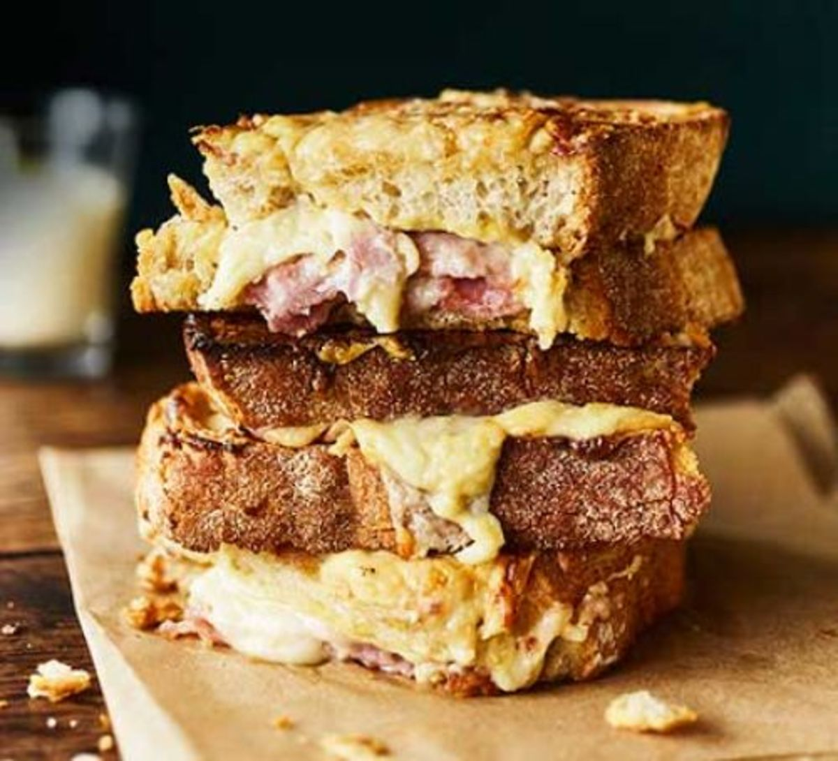 Croque Monsieur (It's More Than a Ham and Cheese Sandwich)