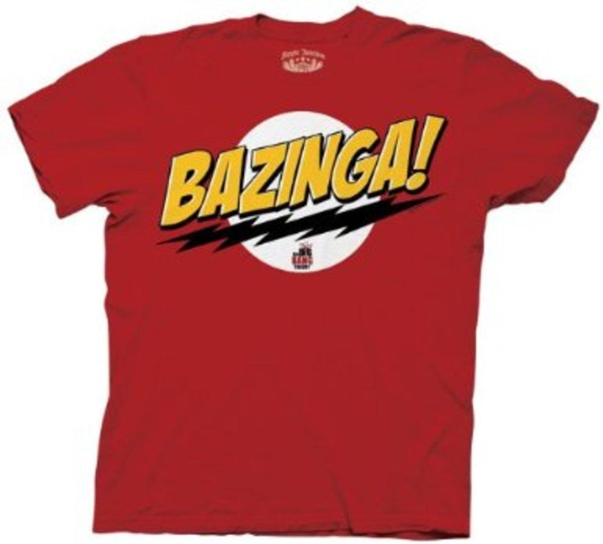 Sheldon Cooper's Bazinga T-Shirt