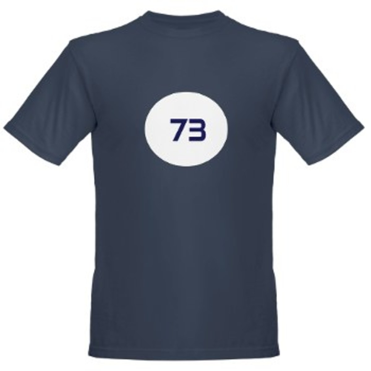 The 73 on Sheldon's shirt isn't just a random number...