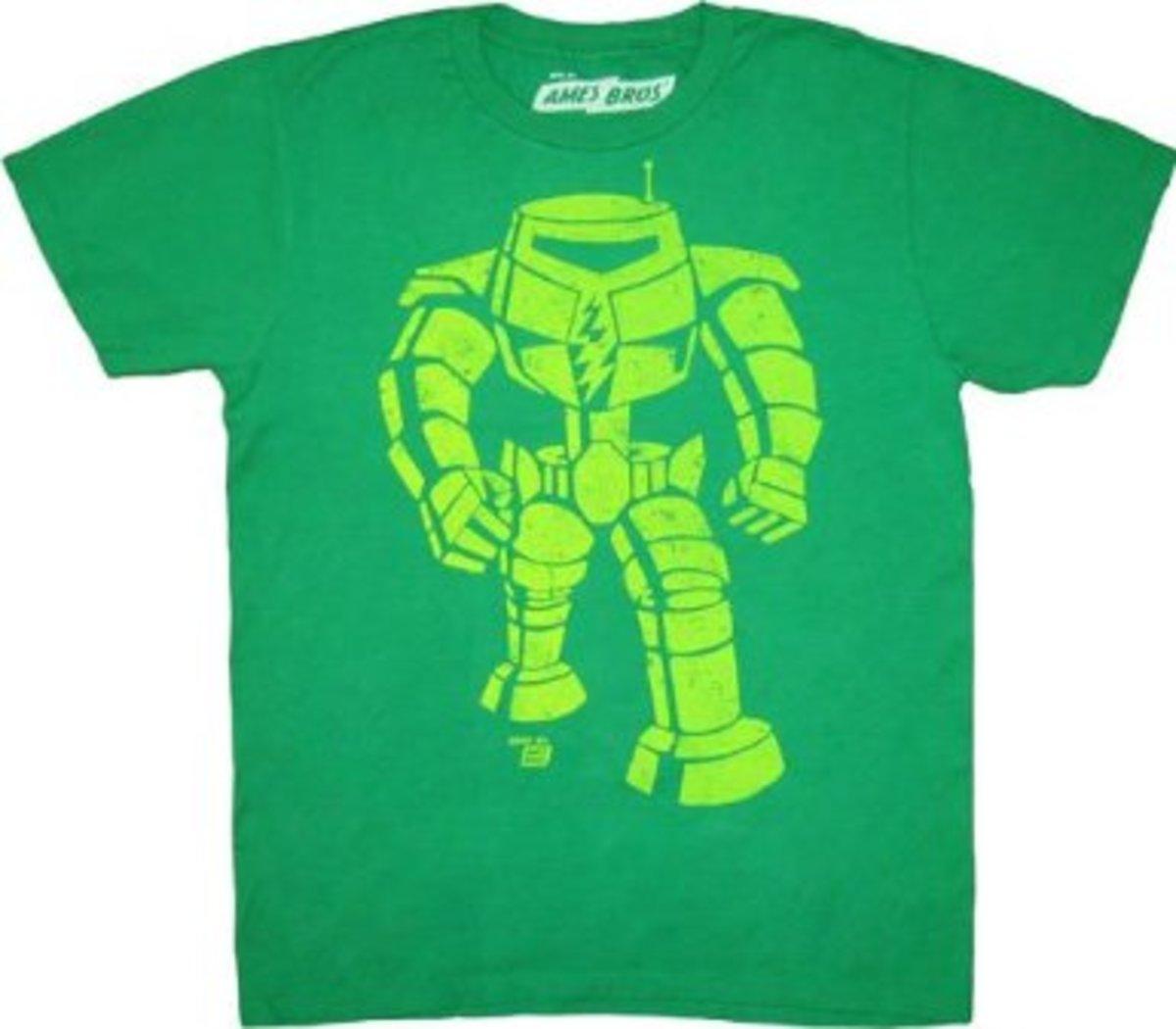 Sheldon Cooper T-Shirts:  Manbot T-Shirt