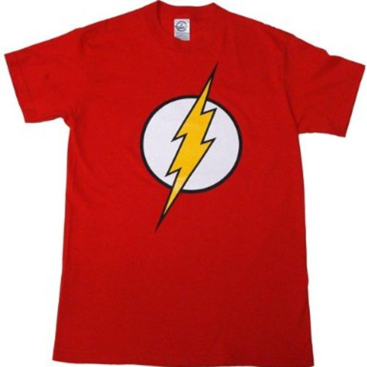 Shedon's Flash Lightning Bolt Shirt