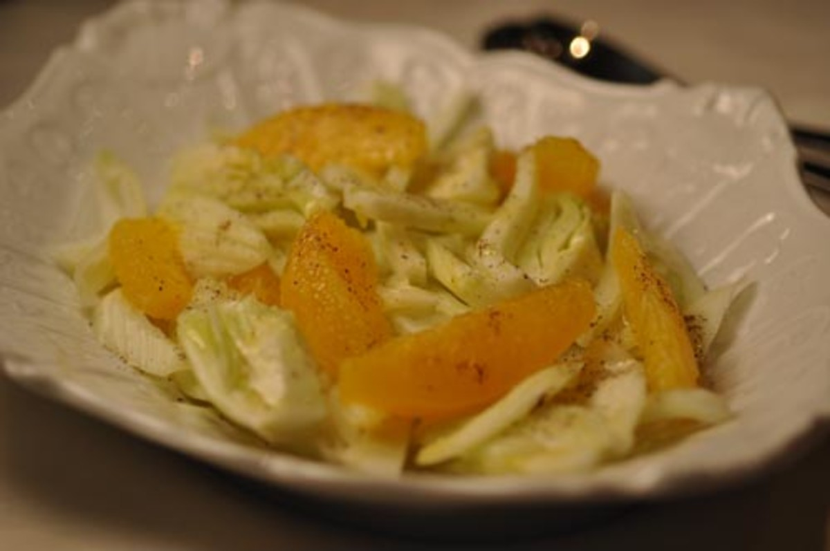 Orange & Fennel Salad. Image:  Siu Ling Hui