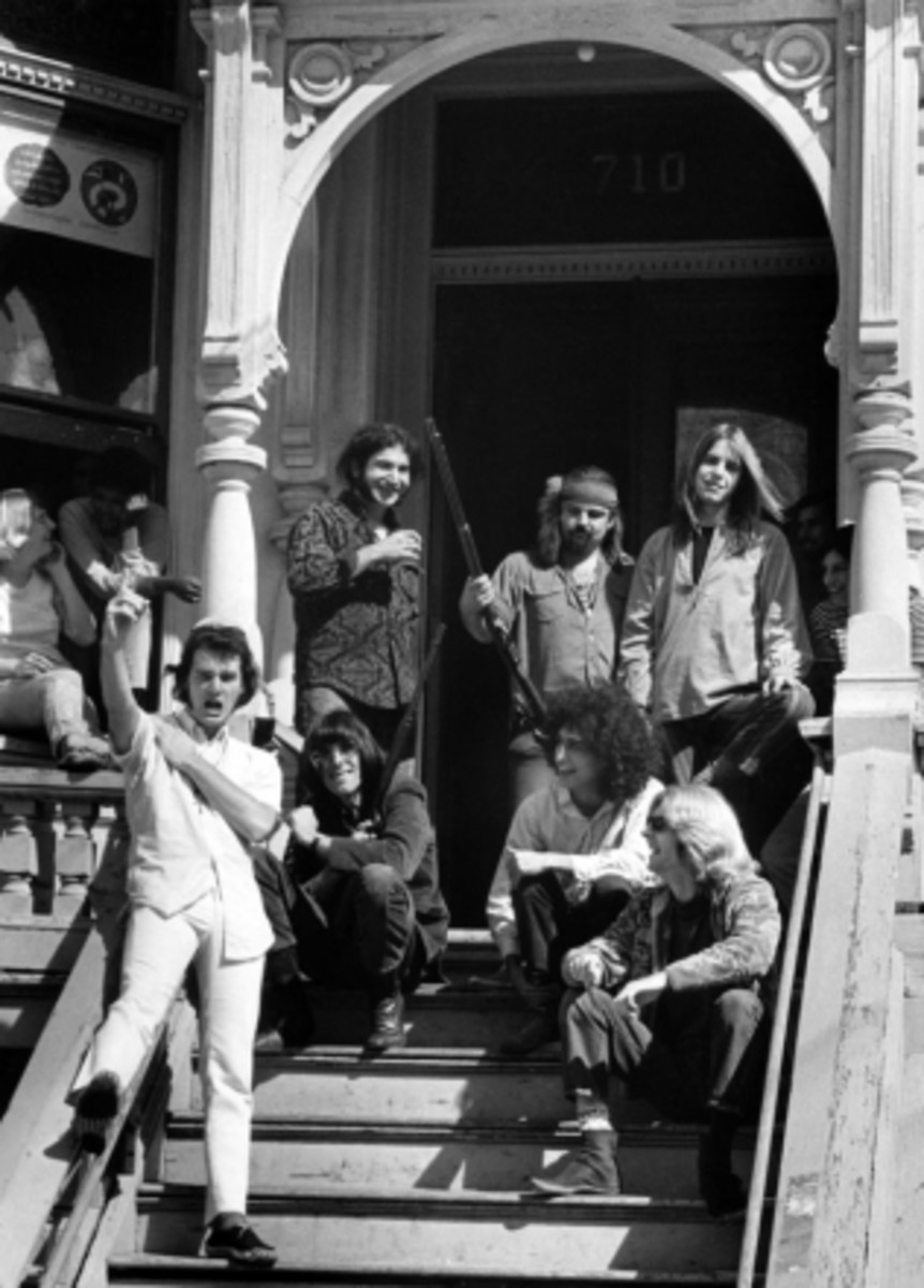 Grateful Dead at their house in San Francisco