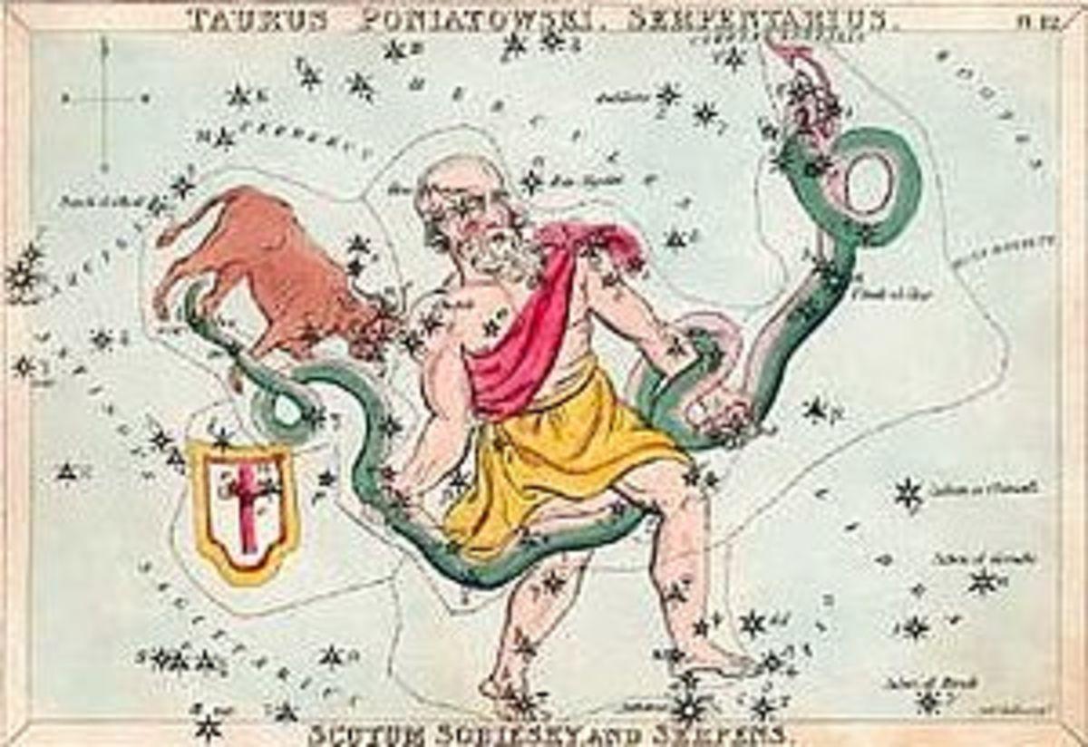 mythological Ophiuchus