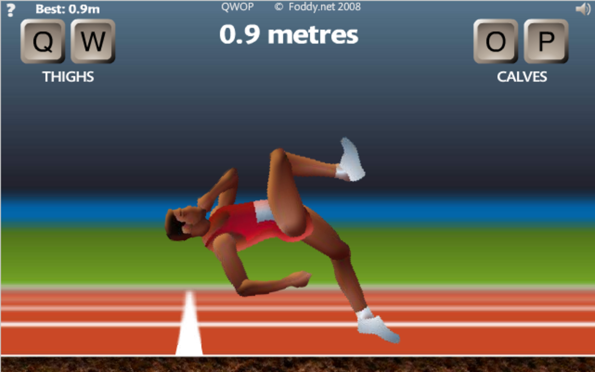 QWOP Strategy Guide - The Best QWOP Game Strategy Technique & How to's