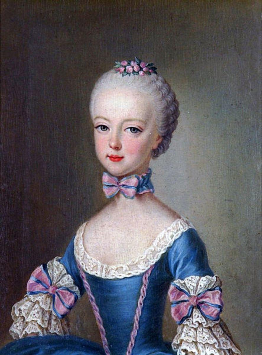 Marie Antoinette, aged 7