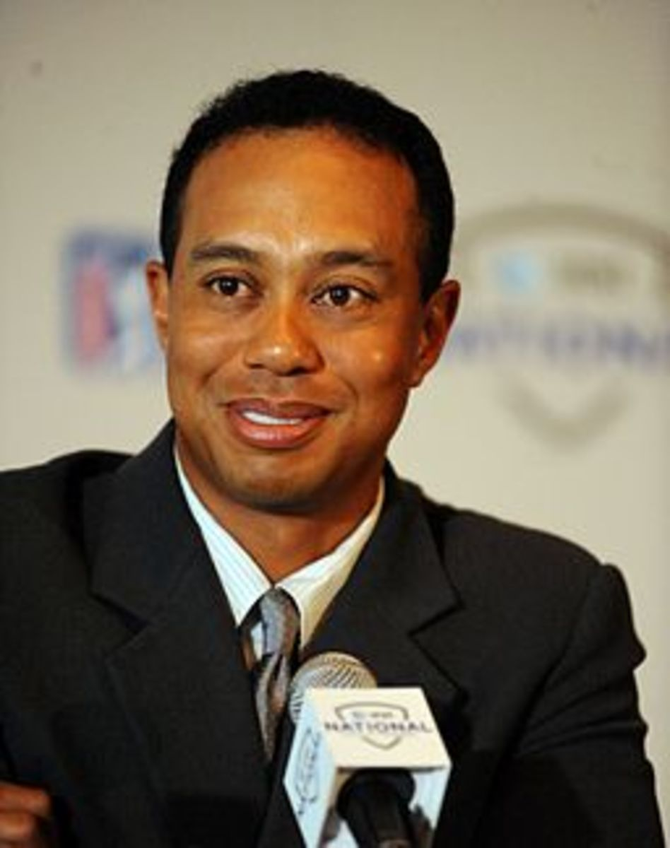 A bright-eyed Tiger in 2009 before his extramarital antics became known to the world.