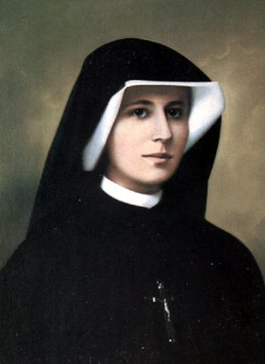 Quit Smoking with Saint Faustina