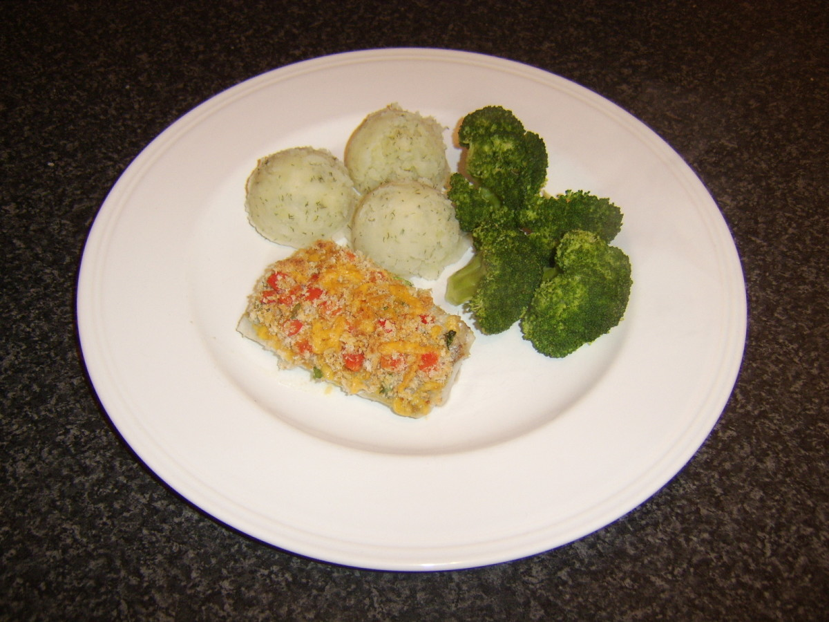 This cheese crusted coley fillet recipe can be found further down this page