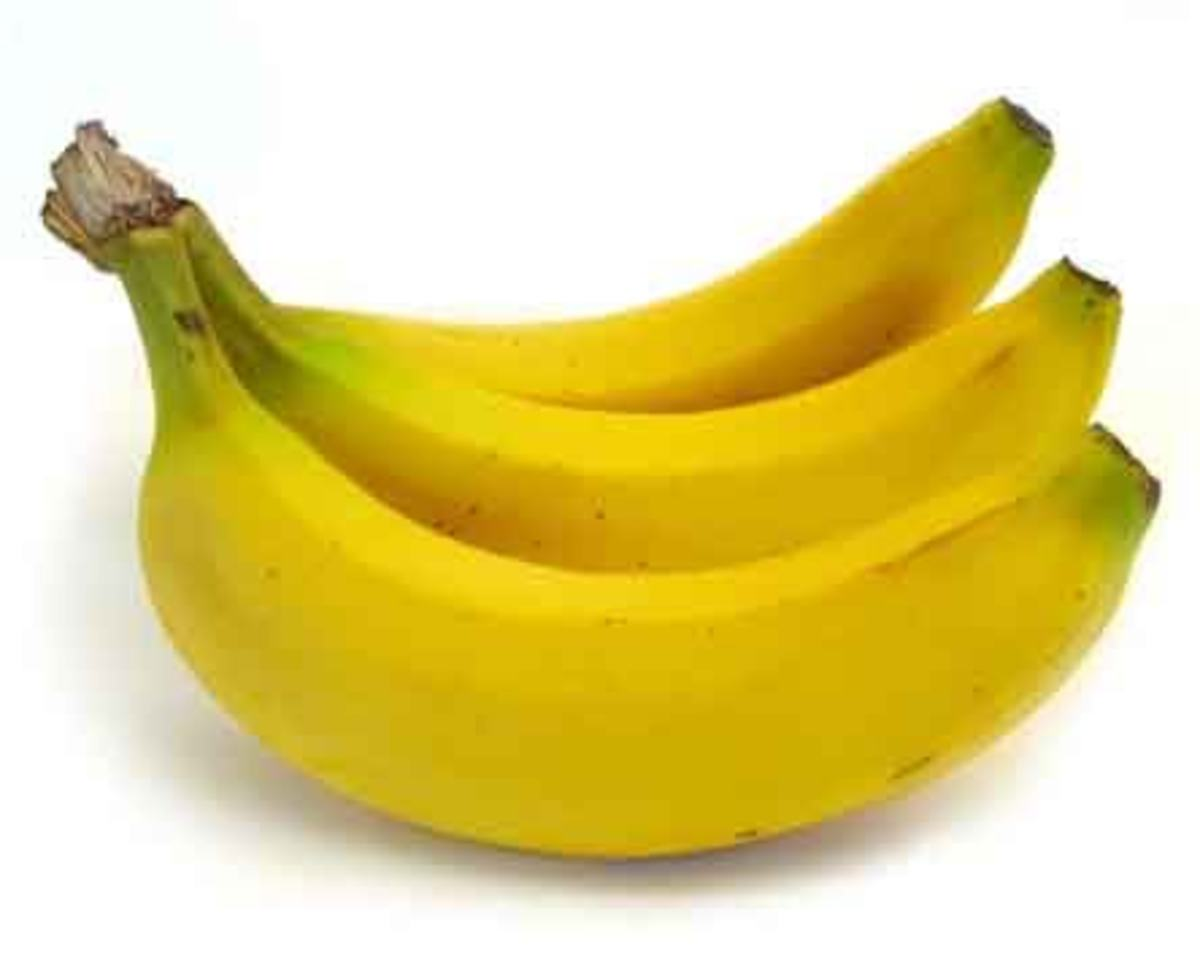 Sweet banana, source: Wikipedia