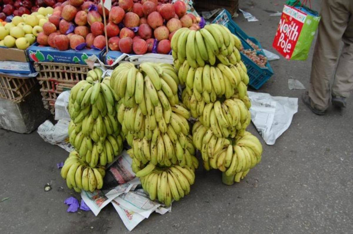 bananas in the market By rytisg, source: Photobucket