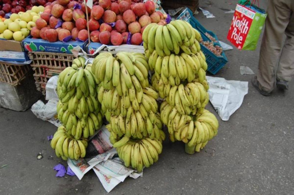 bananas in the market By rytisg, source: Photobucket