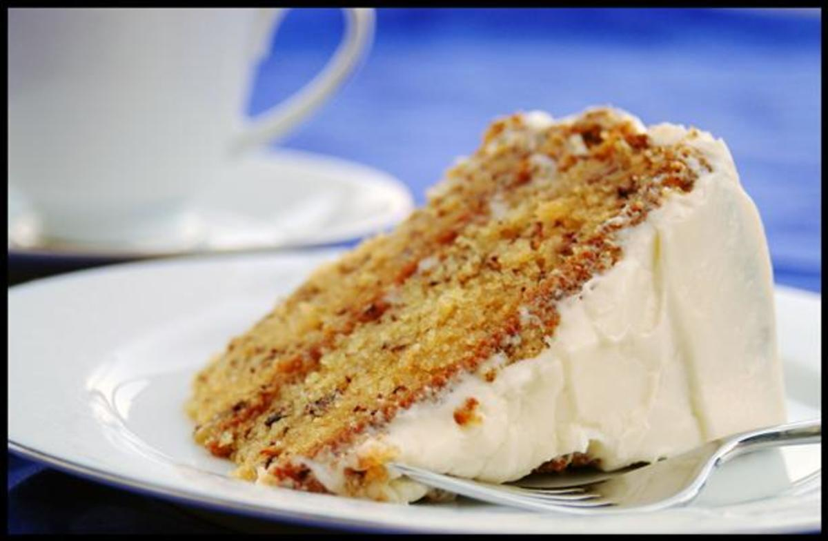 Best Ever Banana Cake with Cream Cheese Frosting Photo by KC_Cooker, source: www.food.com