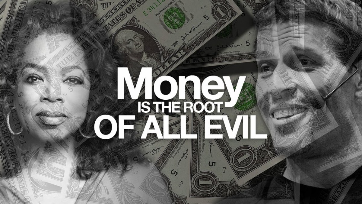Money which has been source of so many blessing to mankind becomes a source of peril and confusion unless we control it.