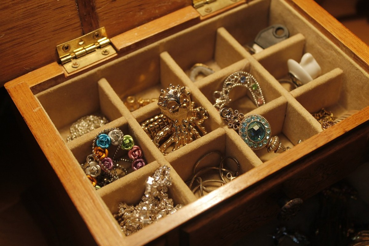 Idea#4: Storing in a drawer with small compartments