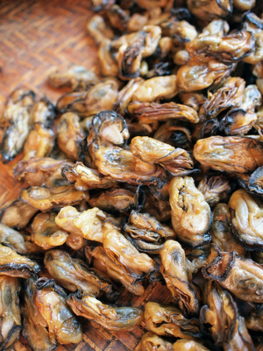 "Dried Oysters known as ""ho see"" meaning good business. Image:  ivylingpy - Fotolia.com"