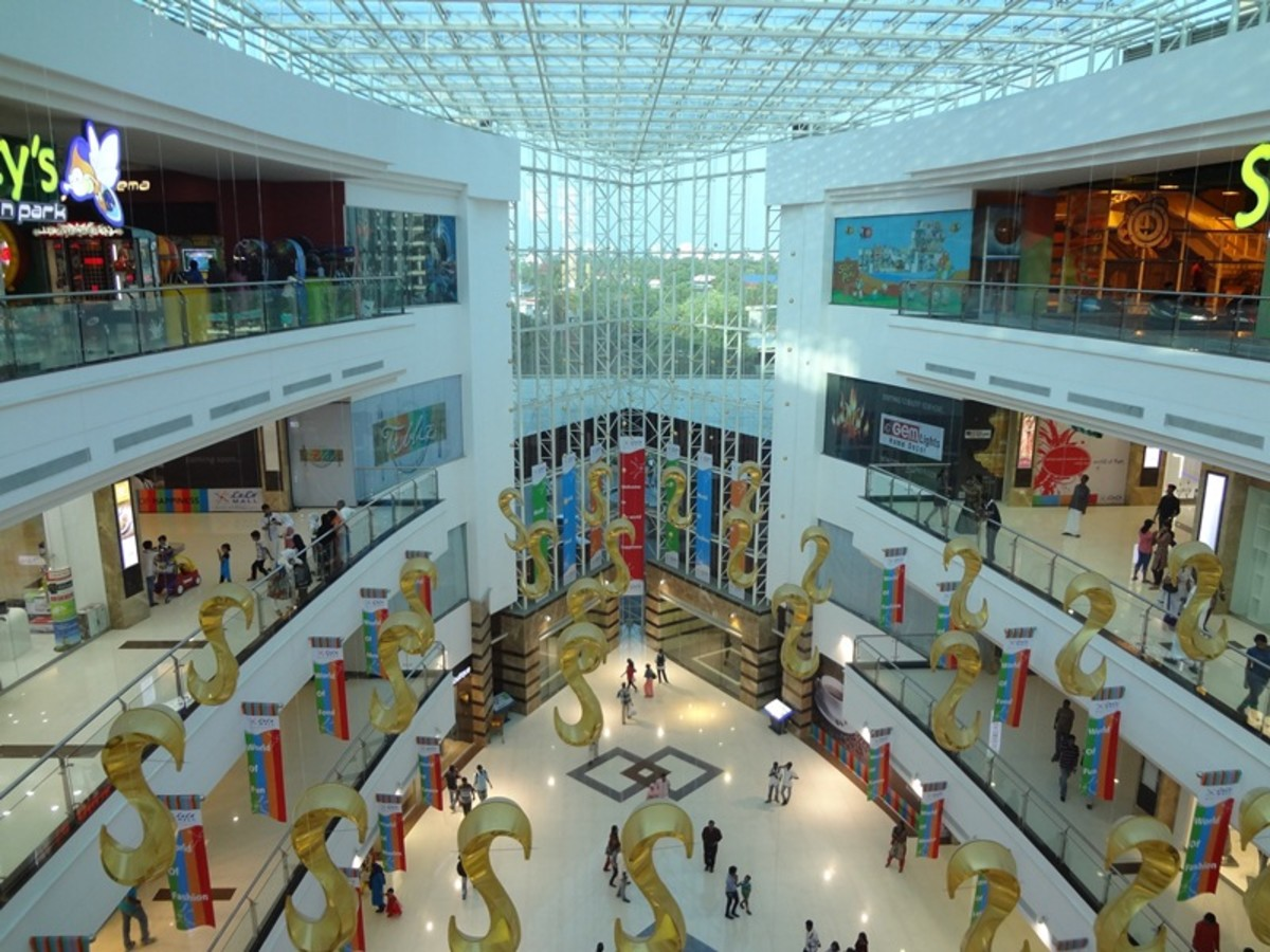 Top 10 Biggest/Largest Shopping Malls of India
