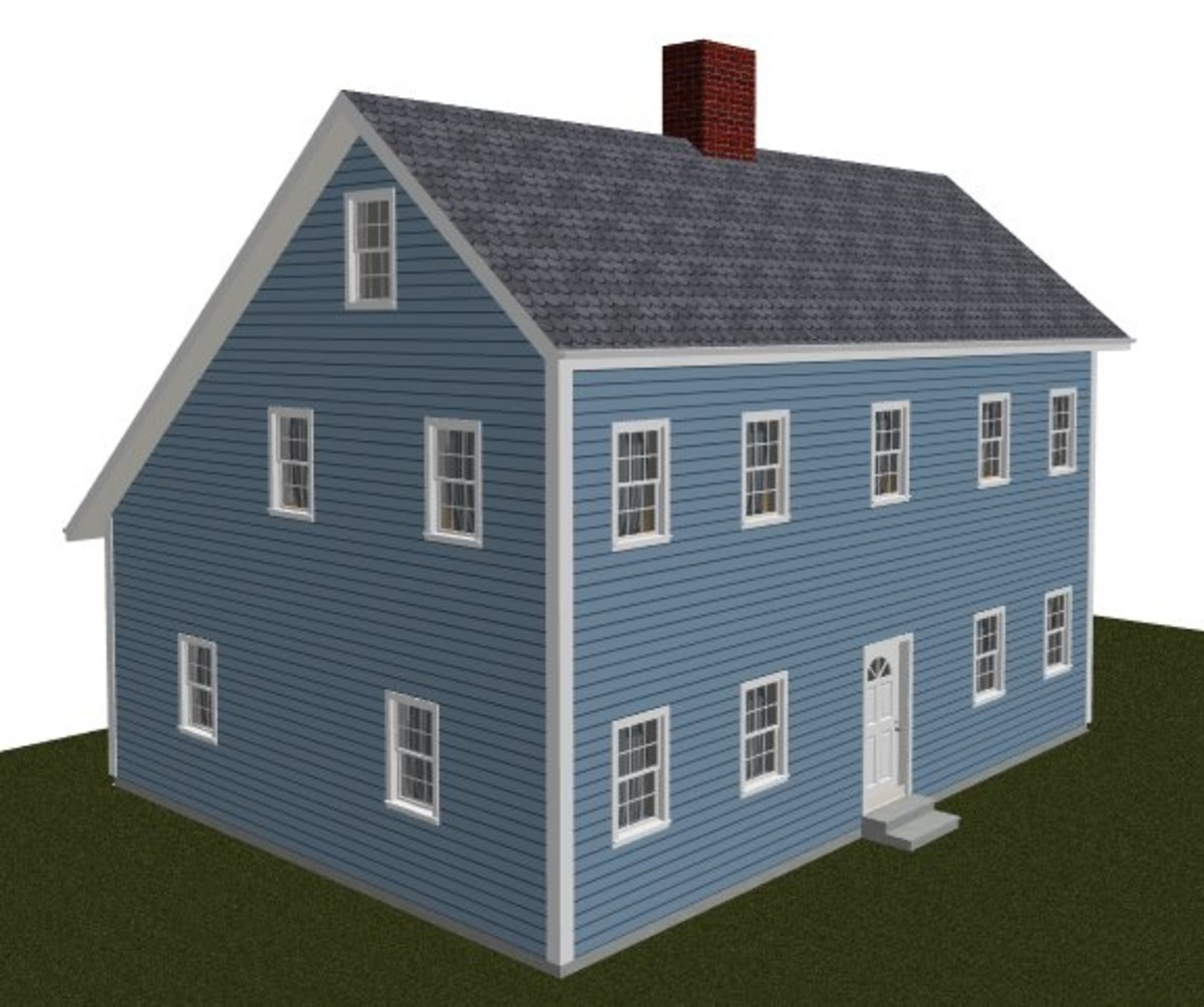Saltbox Roof