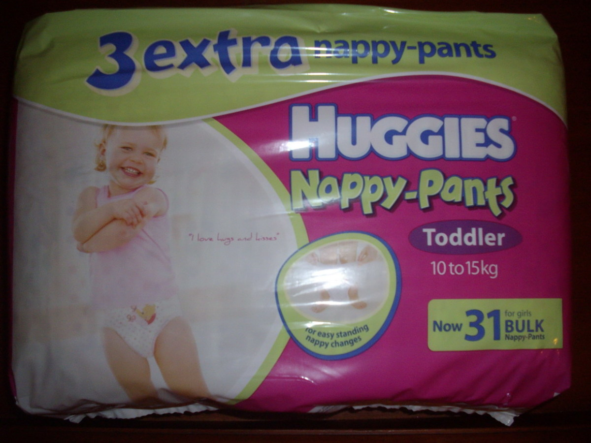 Huggies Nappy-Pants Photos And Review
