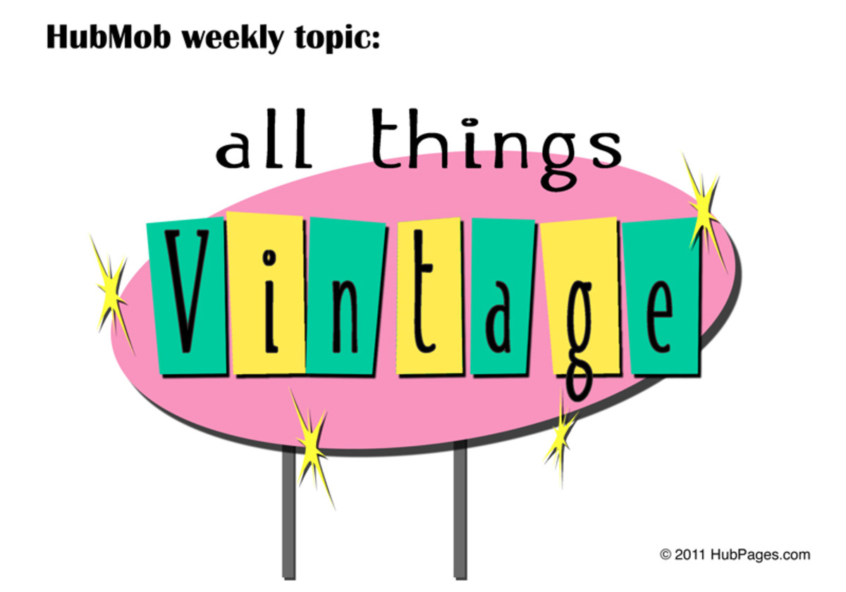 Tips on cleaning vintage and antique clothing