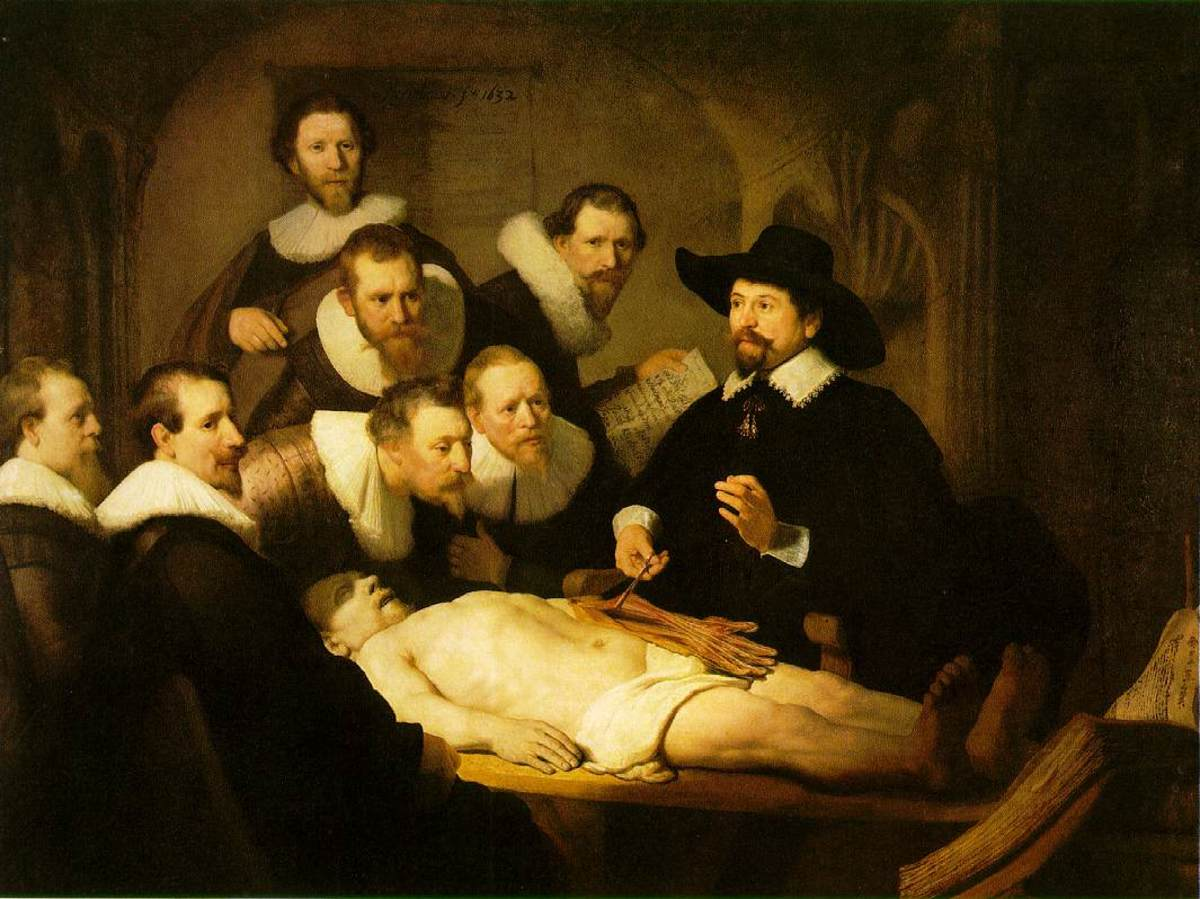 The Anatomy Lesson of Dr Nicholas Tulp- Rembrandt
