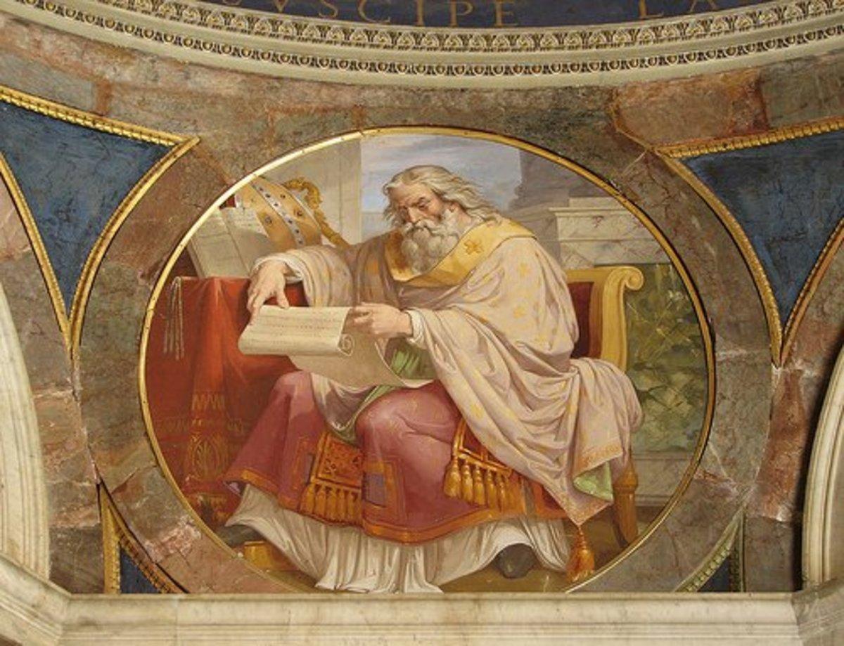 St Ambrose, Bishop of Milan, 4th Century AD