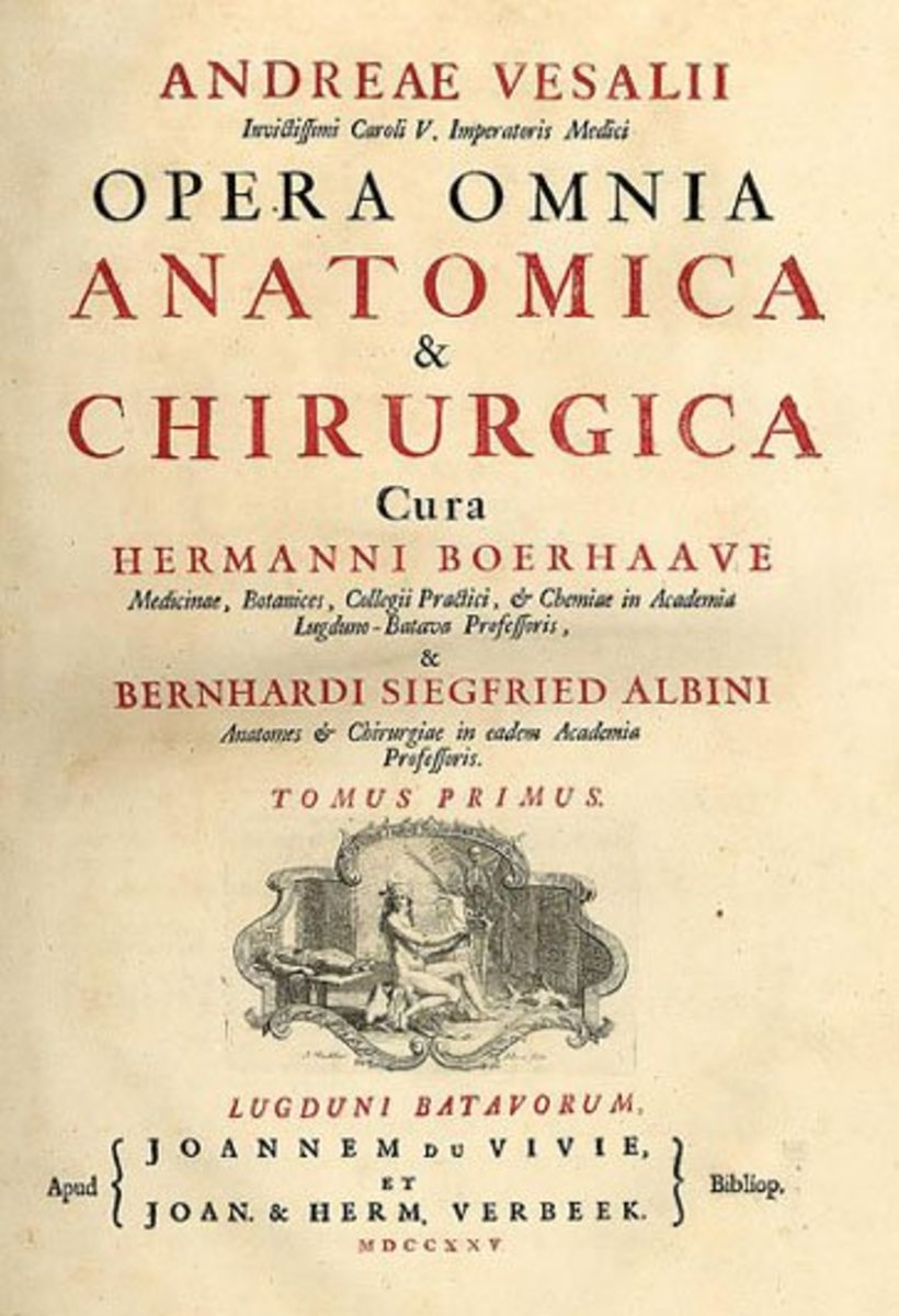 Vesalius Treatise on Anatomy