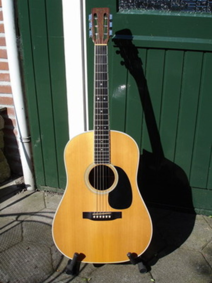 The Martin D 35S Acoustic Guitar