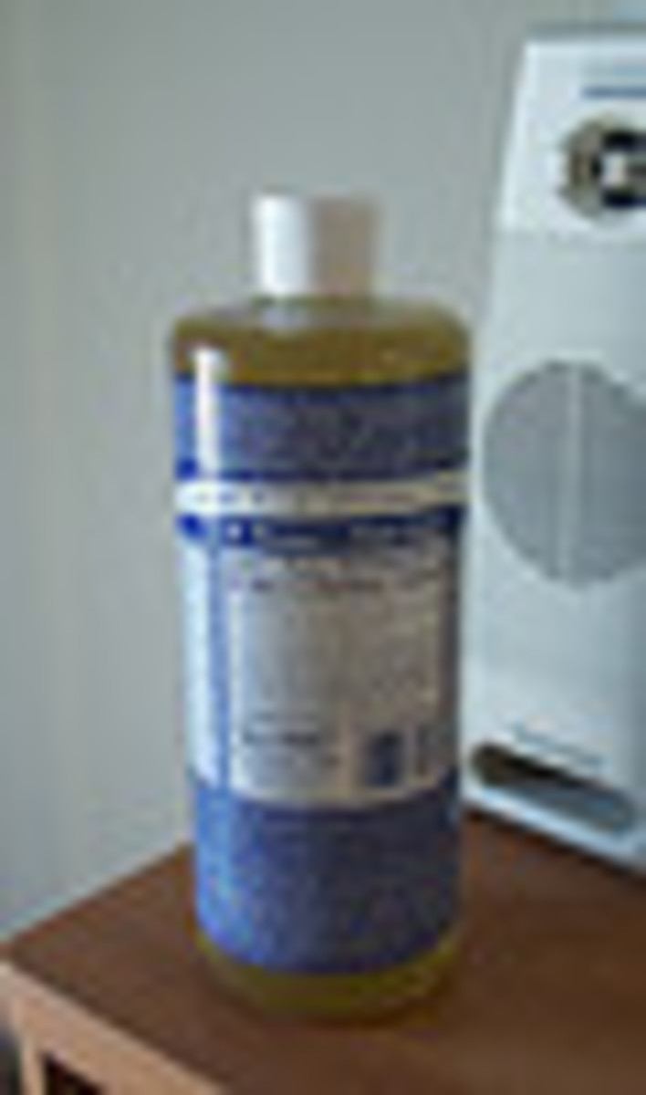 Dr. Bronner's all-in-one natural soap
