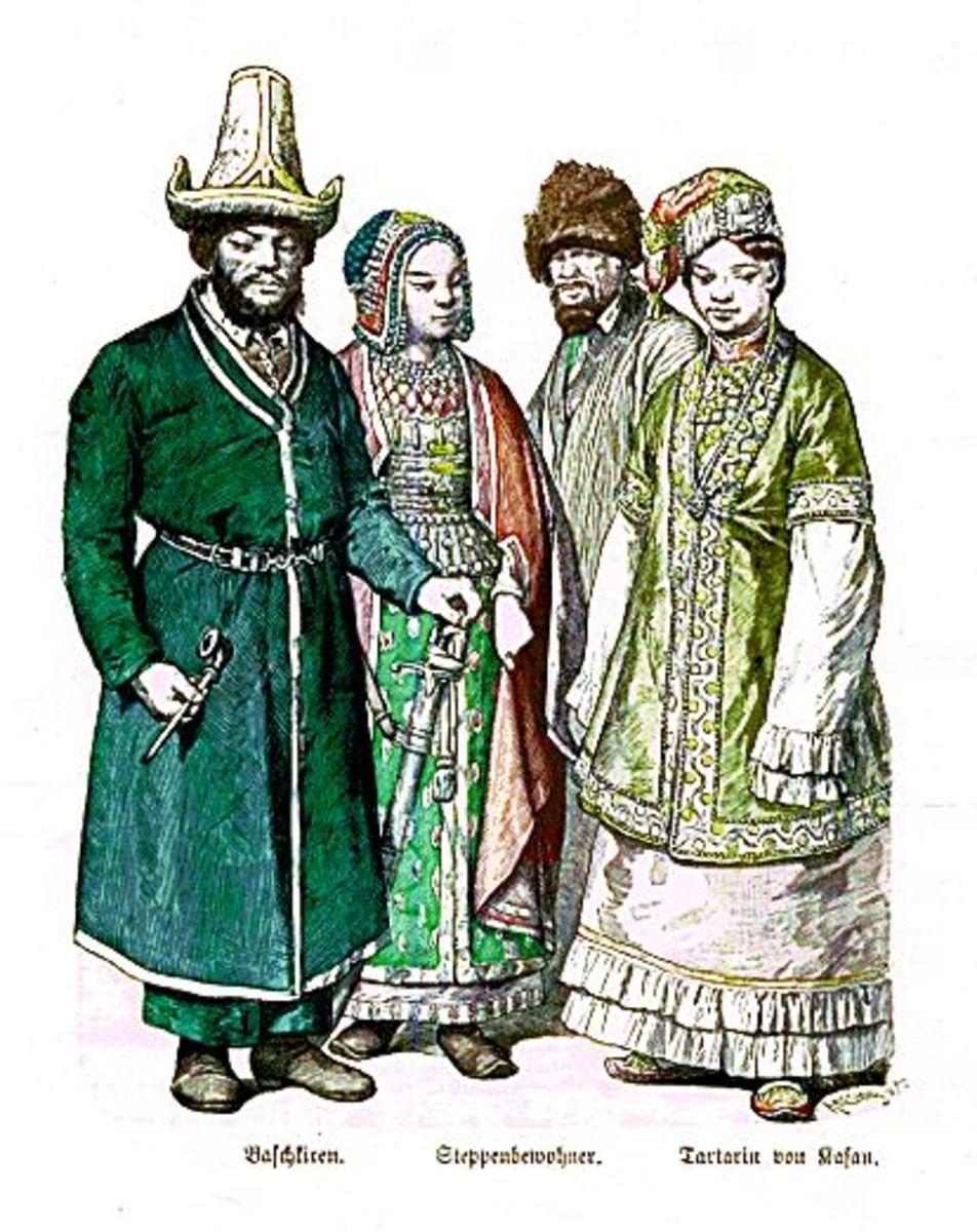 Bashkirs- Steppe Dwellers