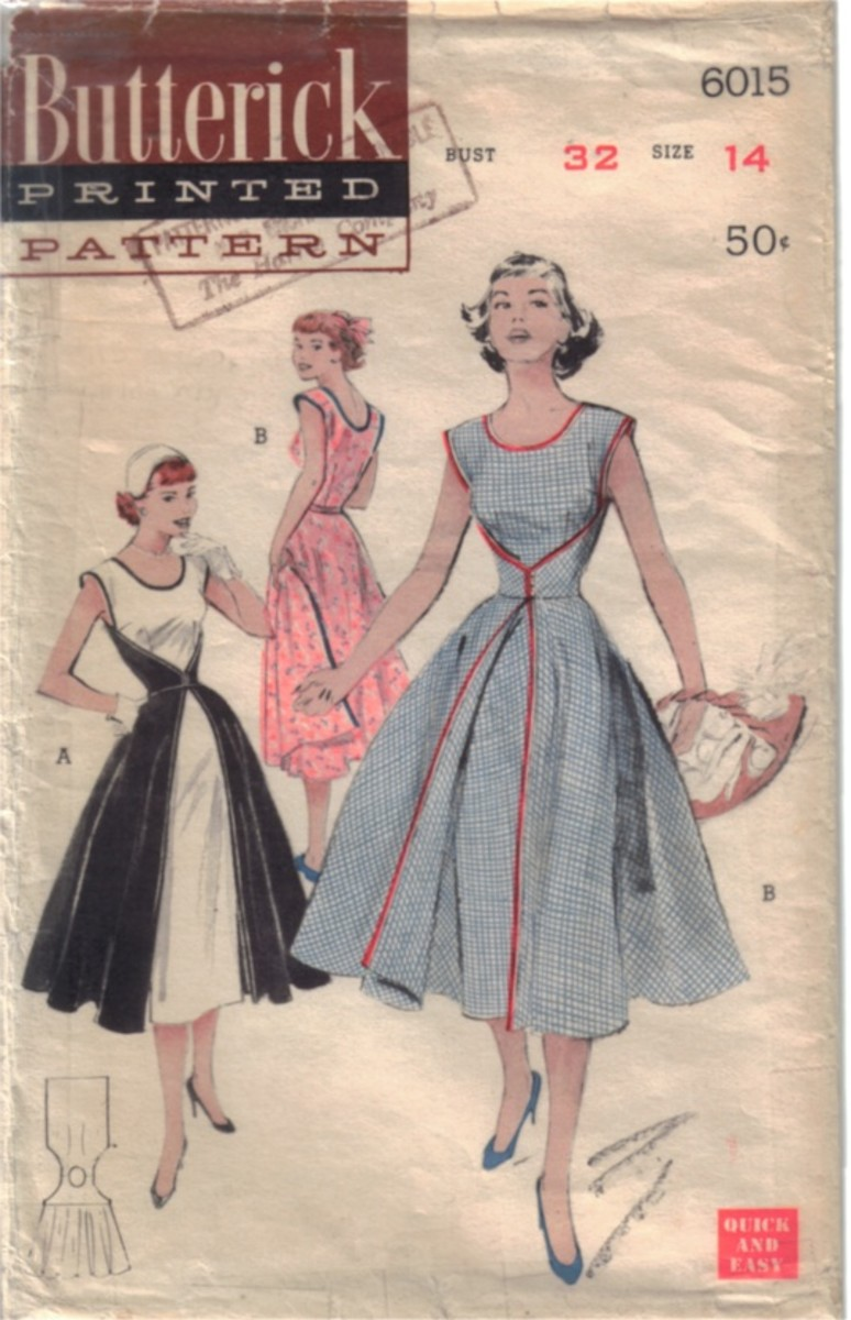 Simple and Easy Butterick Vintage Wrap Dress Pattern Anyone Can Make