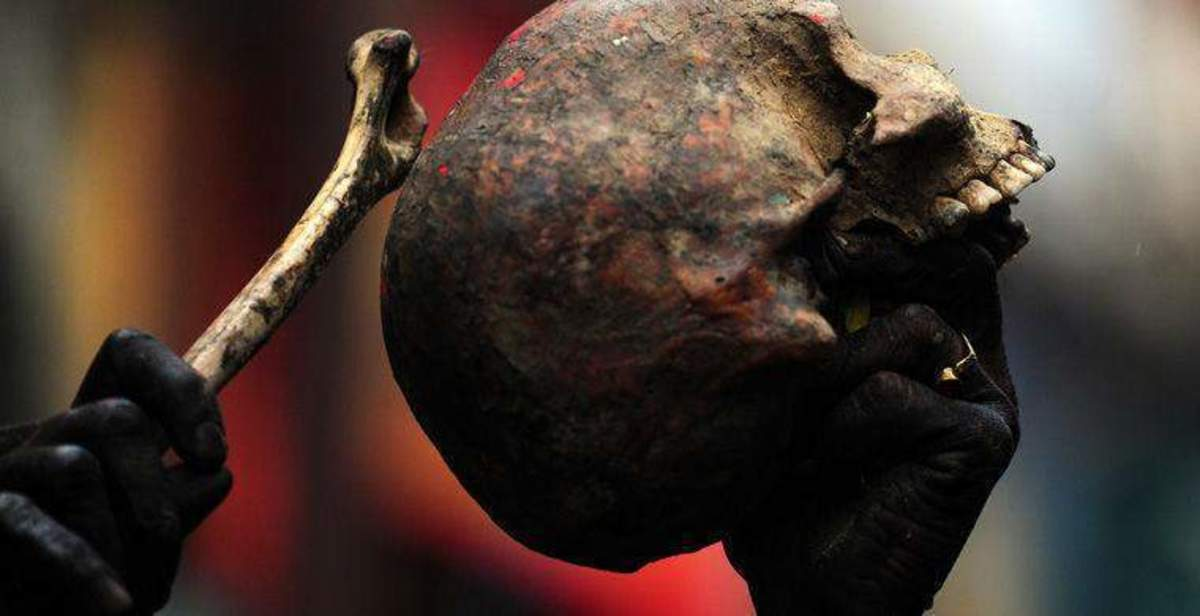 Aghoris - Man Eaters , Cannibals of Varanasi,India | HubPages