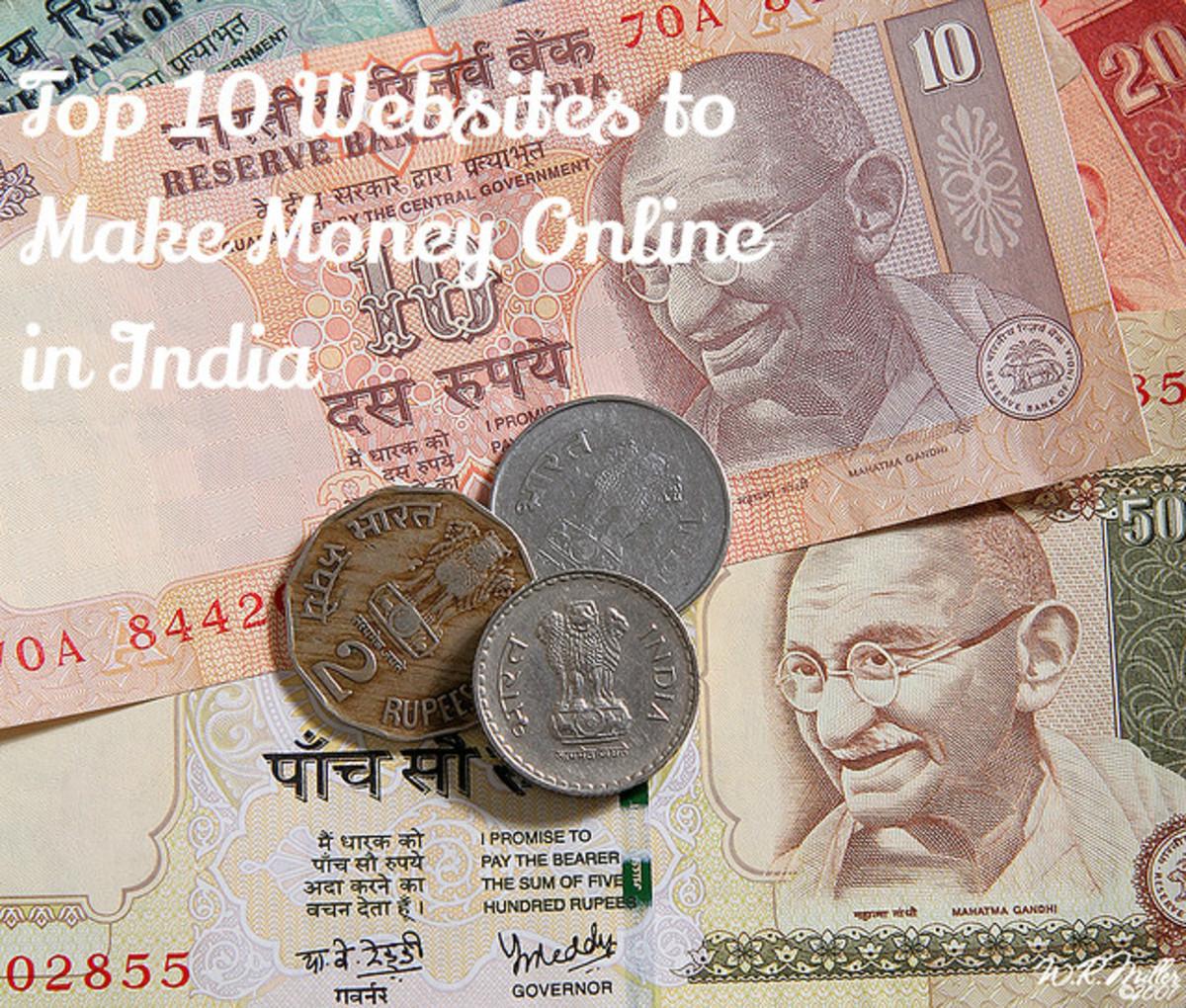 Top 10 Websites to Make Money Online in India