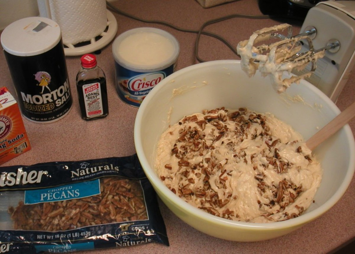 Adding chopped pecans or walnuts is optional.