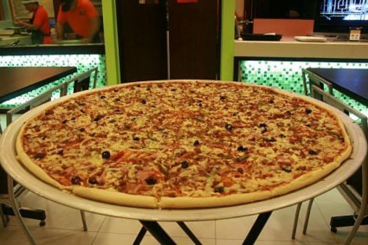 Big 30 Pizza Menu