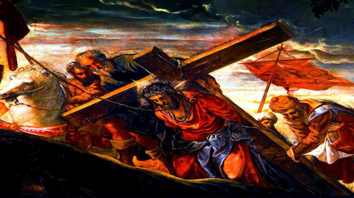 THE ASCENT TO CALVARY