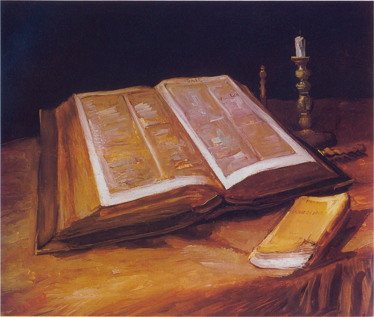 THE HOLY BIBLE AS PAINTED BY VINCENT VAN GOGH