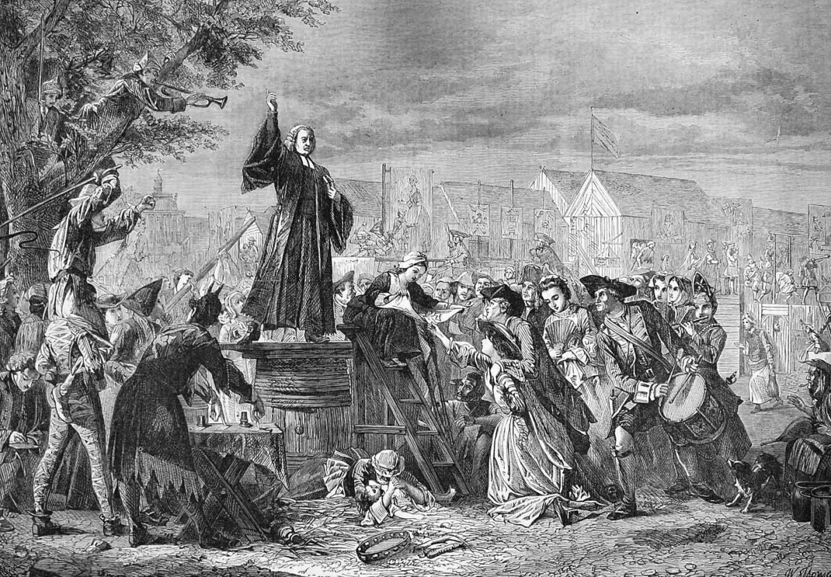 George Whitefield Preaches It