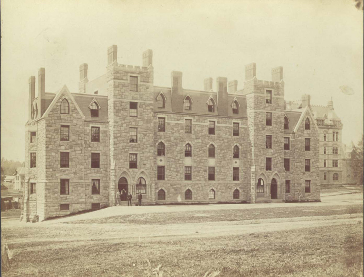 EDWARDS HALL AT PRINCETON UNIVERSITY IN HONOR OF JONATHAN EDWARDS