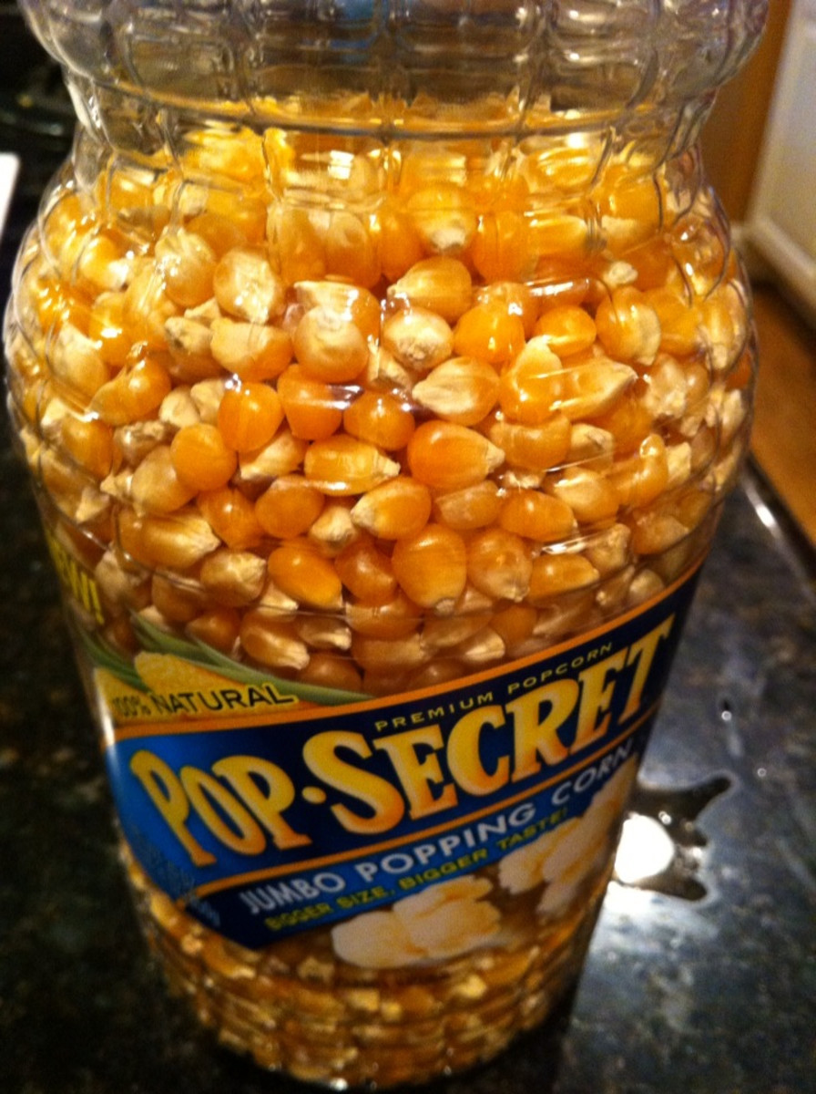 Fresh popcorn kernels