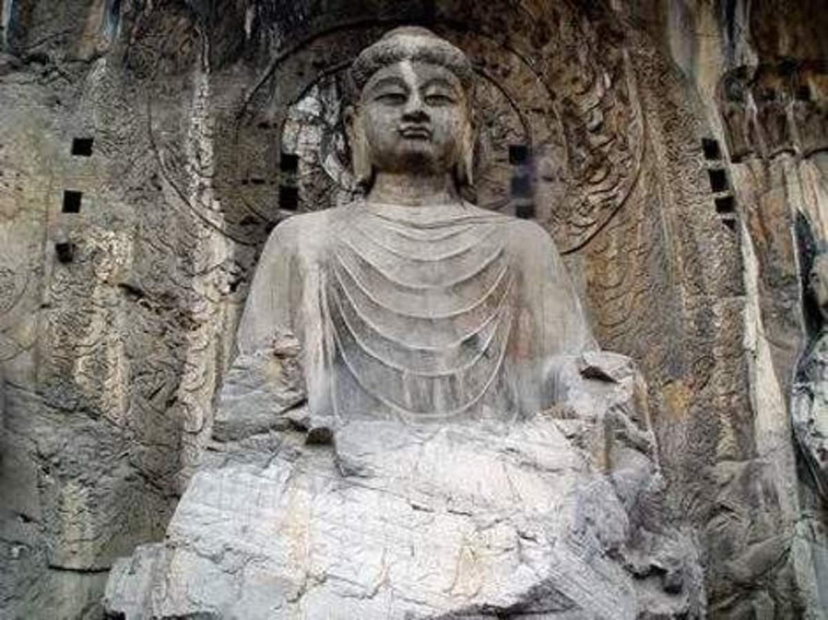 the Grand Vairocana (light all over) Buddha. 17.14 m tall