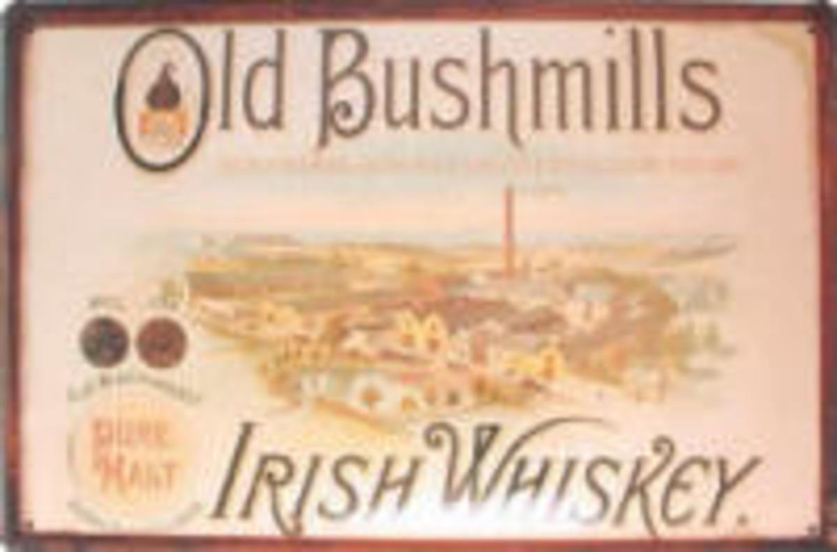 Bushmills was the first legal whiskey distillery in the world