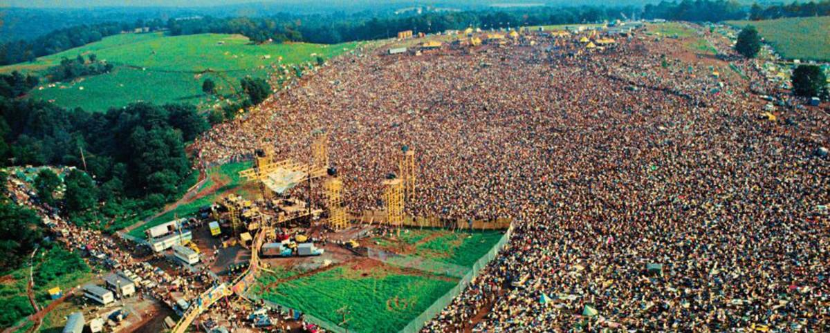 Woodstock 1969 Half a Million Strong