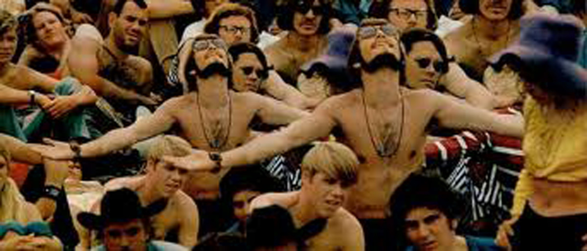 Raining on the Crowd at the Woodstock Concert, 1969