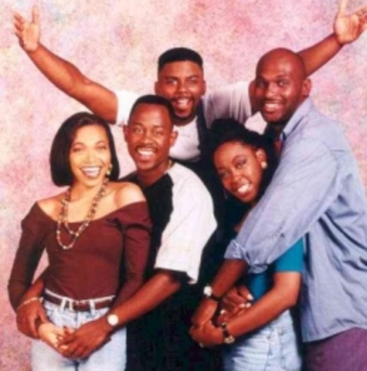 List of Black Cast TV Shows - Martin Show
