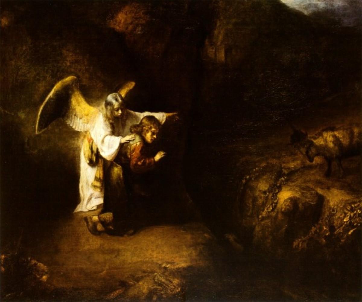 Daniel's Vision, Rembrandt Harmensz van Rijn (1606-1669)