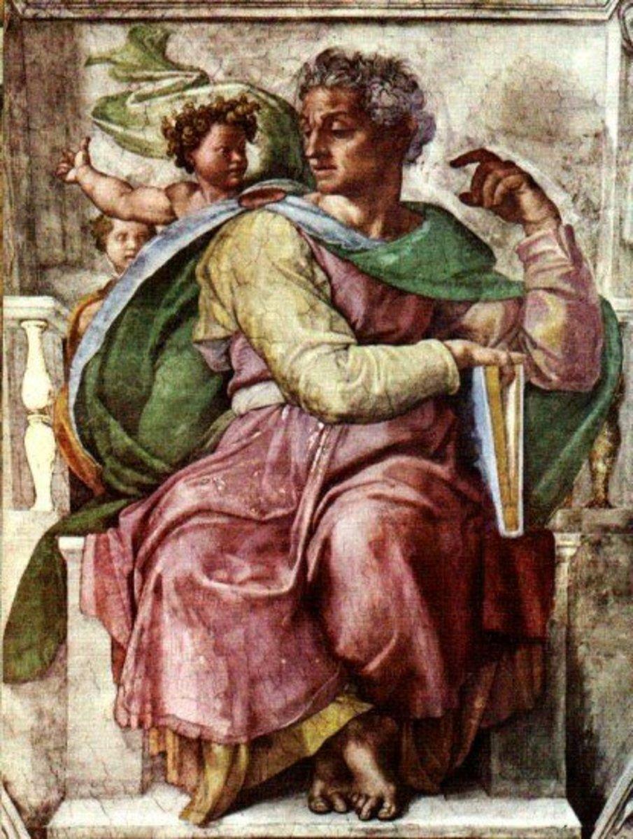 The Prophet Isaiah, Michelangelo Buonarroti (1475-1564)