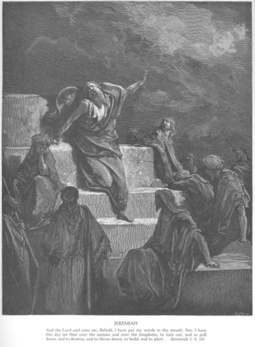 The Prophet Jeremiah, Gustave Doré (1832-1883)