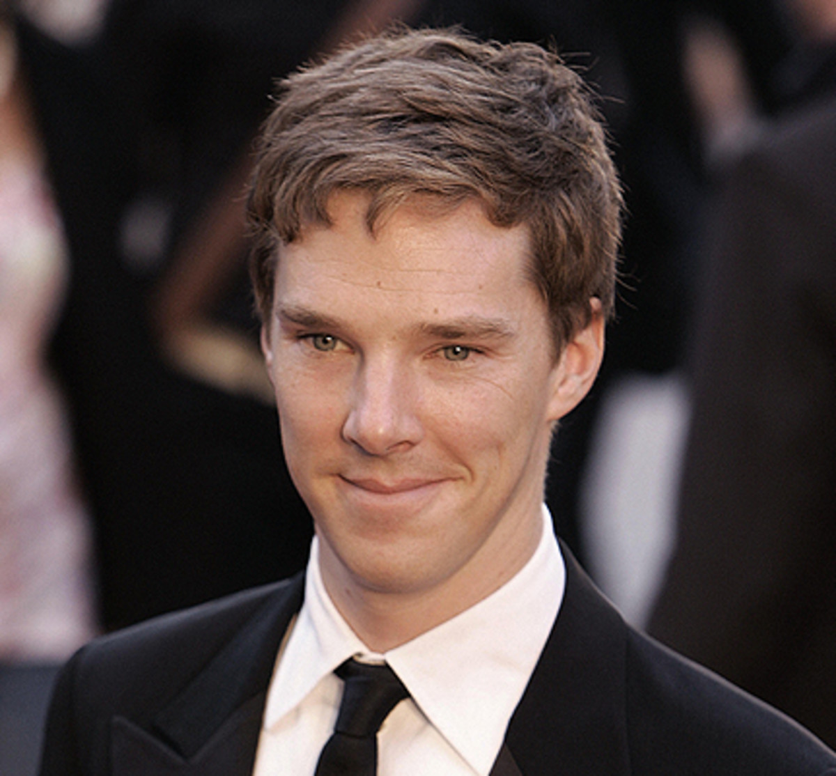 Benedict Cumberbatch plays one of my favorite sociopath characters in the 2010 BBC miniseries Sherlock.  Watch it if you know what's good for you.