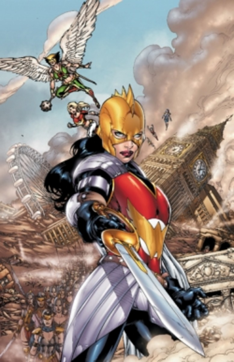 Flashpoint: Wonder Woman and The Furies #1, Cover Art